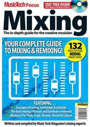 MusicTech Focus : Mixing Magazine Cover