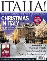 December 2010 Christmas in Italy issue December 2010 Christmas in Italy