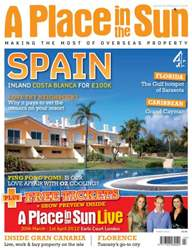 A Place in the Sun Magazine Magazine Cover