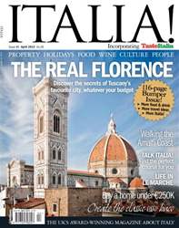 April 2012 The Real Florence issue April 2012 The Real Florence