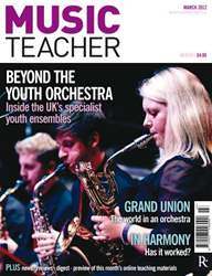 Music Teacher March 2012 issue Music Teacher March 2012