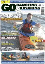 Go Canoeing and Kayaking Magazine Cover