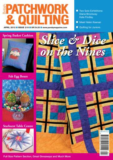 Patchwork And Quilting Magazine April 2012 Subscriptions