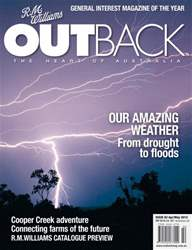 OUTBACK 82 issue OUTBACK 82