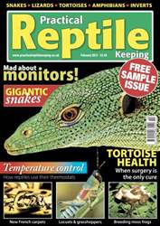 Practical Reptile Keeping Magazine Cover