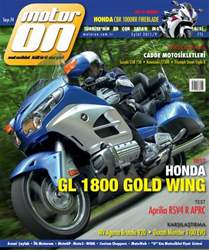 Motoron Magazine Cover