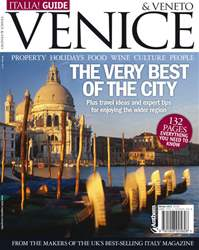 Italia! Guide to Venice Magazine Cover