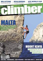 Climber Apr 12 issue Climber Apr 12
