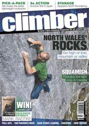 Climber May 12 issue Climber May 12