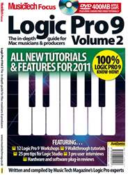 MusicTech Focus: Logic Pro 9 v2 Magazine Cover