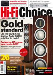 Hi-Fi Choice September 2011 issue Hi-Fi Choice September 2011