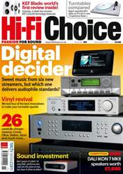 Hi-Fi Choice November 2011 issue Hi-Fi Choice November 2011