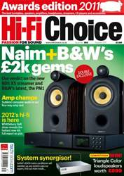 HI-Fi Choice Awards 2011 issue HI-Fi Choice Awards 2011