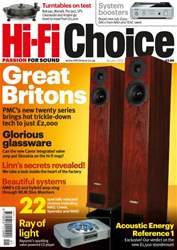Hi-Fi Choice January 2012 issue Hi-Fi Choice January 2012