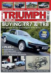Triumph World June - July 2012 issue Triumph World June - July 2012