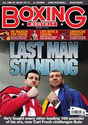 Boxing Monthly May 2012 issue Boxing Monthly May 2012