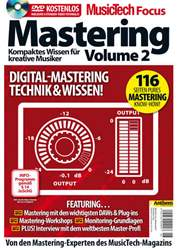 MusicTech Focus Deutsch Magazine Cover