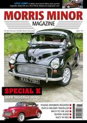 Morris Minor Magazine Magazine Cover
