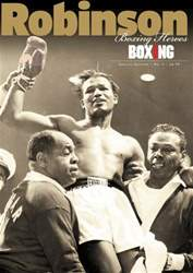 Boxing News Heroes - Robinson issue Boxing News Heroes - Robinson