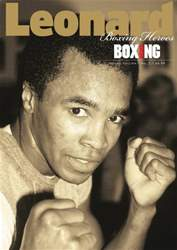 Boxing News Heroes - Leonard issue Boxing News Heroes - Leonard