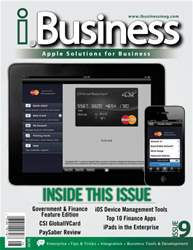 I.Business Magazine Cover