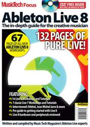 MusicTech Focus : Ableton Live 8 issue MusicTech Focus : Ableton Live 8