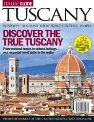 Italia! Guide to Tuscany Magazine Cover