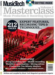 Masterclass Recording and Produc Magazine Cover