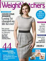 Weight Watchers magazine UK Magazine Cover