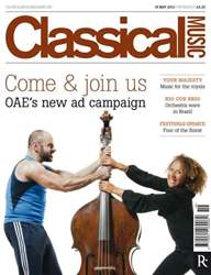 Classical Music 19 May issue Classical Music 19 May