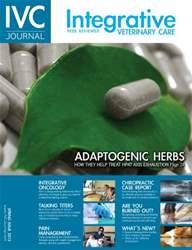 Integrative Veterinary Care Magazine Cover