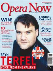 Opera Now June 2012 issue Opera Now June 2012
