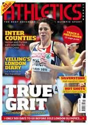 Athletics Weekly Magazine Cover