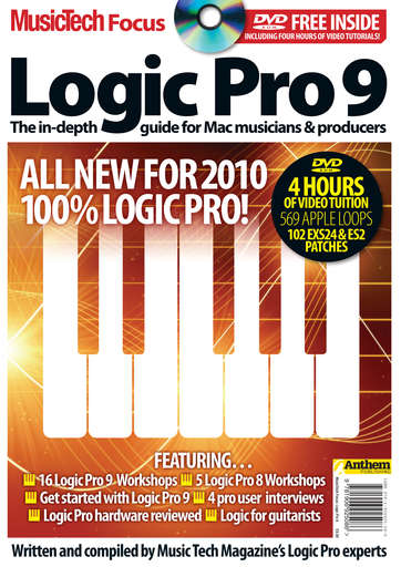 MusicTech Focus : Logic Pro 9 Preview