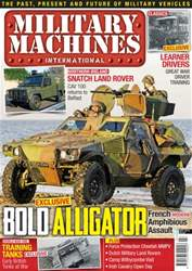 Military Machines International Magazine Cover