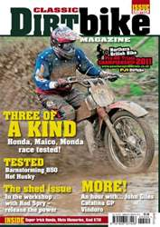 Classic Dirt Bike Issue #18 issue Classic Dirt Bike Issue #18