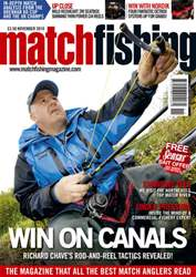 Match Fishing Magazine Cover