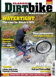 Classic Dirt Bike Issue #15 issue Classic Dirt Bike Issue #15