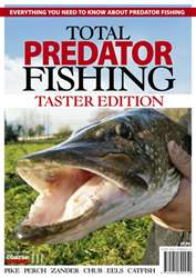 Total Predator Fishing - TASTER issue Total Predator Fishing - TASTER