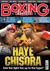 Boxing Monthly July 2012 issue Boxing Monthly July 2012