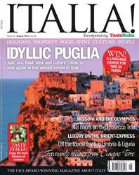 August 2012 Idyllic Puglia issue August 2012 Idyllic Puglia