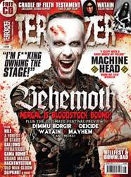 Terrorizer 225 August 2012 issue Terrorizer 225 August 2012