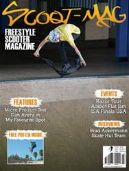 Scoot Mag Magazine Cover