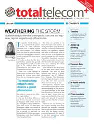 Total Telecom + July-Aug 2012 issue Total Telecom + July-Aug 2012