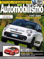 Automobilismo 8-2012 issue Automobilismo 8-2012