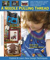 A Needle Pulling Thread Magazine Cover