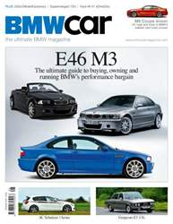 BMW Car Magazine Cover