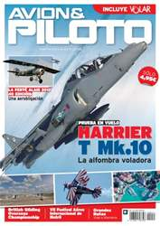 Revista Avion & Piloto Magazine Cover