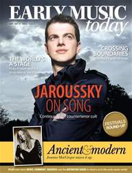 Early Music Today Magazine Cover