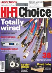 Hi-Fi Choice September 2012 issue Hi-Fi Choice September 2012
